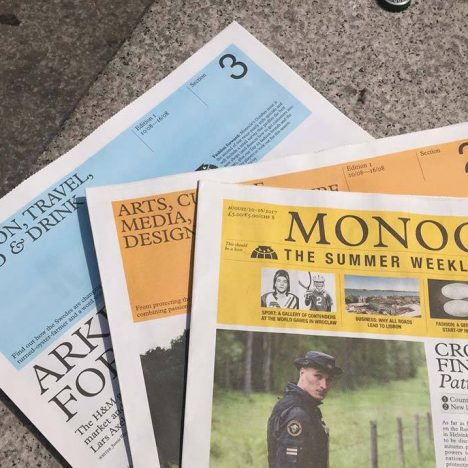 Monocle, The Summer Weekly Edition
